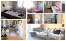Boka 2020 - 4:a med 3 separata sovrum och 6 bäddar nära Visby Centrum
