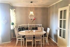 Lägenhet på 120 kvadratmeter med 2 balkonger och 8 bäddar i södra Visby