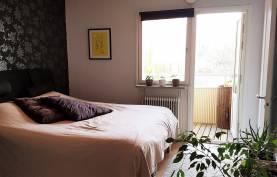 Ljus lägenhet på 80 kvm ca 1,2 km från muren