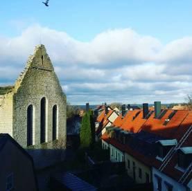 Boka 2019 - Mindre lägenhet med fantastisk utsikt i Visby innerstad, ett stenkast från Almedalen