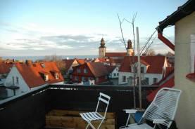 Våning vid Klinttorget med utsikt över hela Visby - Ledig v32 2017