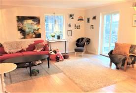 Boka 2019 - Rymlig nybyggd villa i vackra Brissund - 150 m till havet