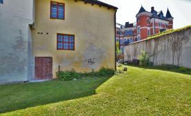 Trädgårdstomt för mingel, seminarium och event - mitt i innerstan - Nära stora torget